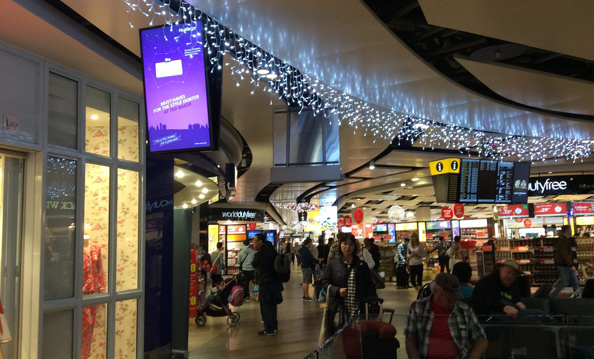Terminal 3 in London Heathrow